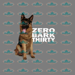 Zero Bark Thirty Dog Lover Doh Shirt Design Quotes Gift For Friend Friends Png Digital