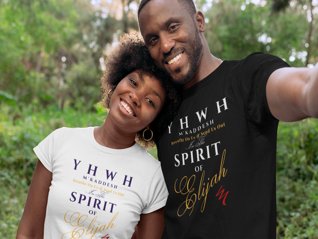 "100% Cotton Organic T ""YHWH M'Kaddesh - The Lord Who Sanctifies"" Special Edition Unisex"