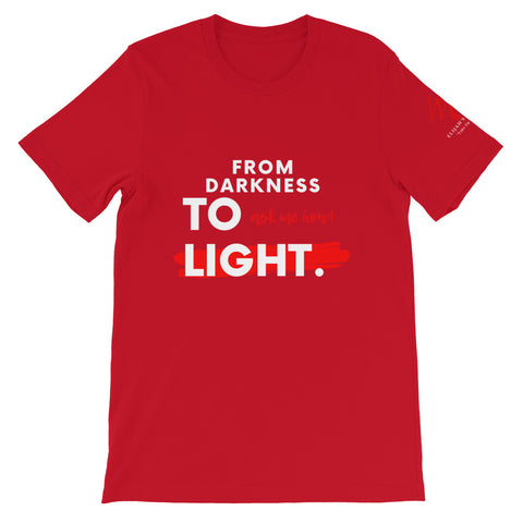 """From Darkness to Light!"" Short-Sleeve T-Shirt"