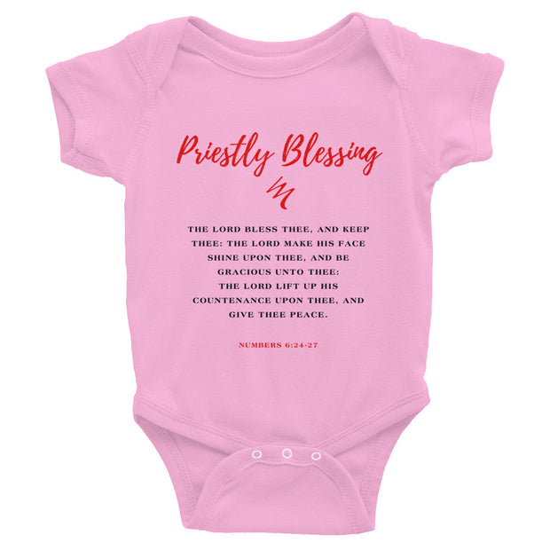 """Priestly Blessing"" Infant Bodysuit"