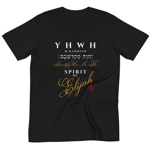 """YHWH M'Kaddesh יְהוָה מְקַדִּשְׁכֶֽם׃- The Lord Who Sanctifies"" Special Edition Unisex Organic T-Shirt - Elijah's Mantle Messianic Judaic Christian T-Shirts, Hoodies, Hats - Apparel"