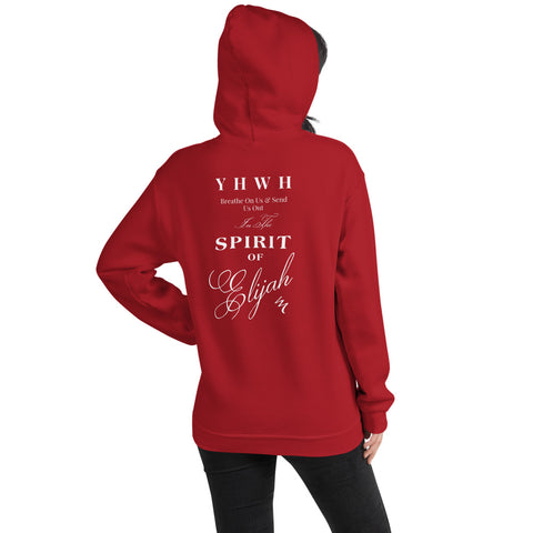"""YHWH Breathe On Us"" Super Soft Unisex Hoodie - Elijah's Mantle Messianic Judaic Christian T-Shirts, Hoodies, Hats - Apparel"