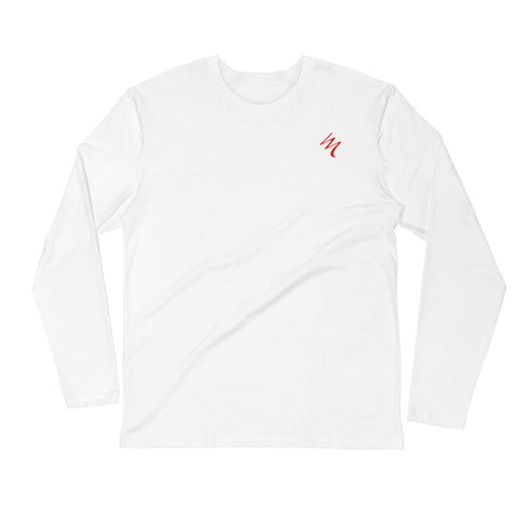 Lifetime of Depression - Saved! Long Sleeve Fitted Crew