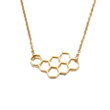 Load image into Gallery viewer, Honeycomb Necklace