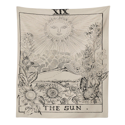 Sun & Moon Tarot Card Tapestry