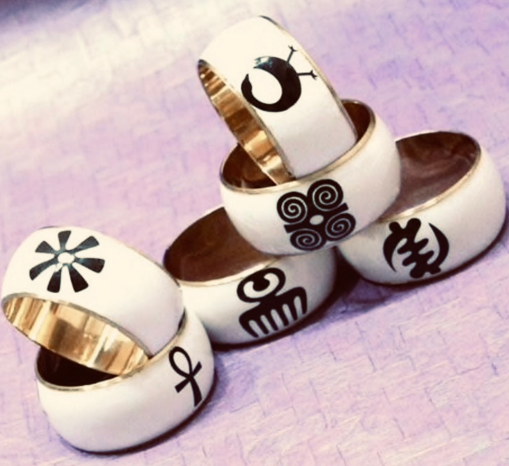 Adinkra/Egyptian Bangles(Sold Separate)