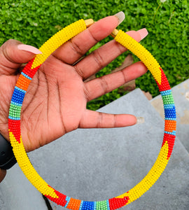 African Maasai Bead Necklace(ONLY)$22.00