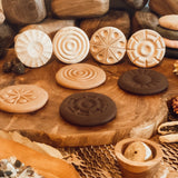 Wooden Dough Stamps