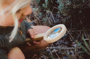 Bamboo Magnifying Glass