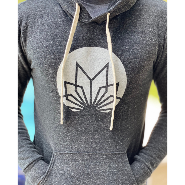MANTRA Pull Over Hoodie Eco Tri Charcoal