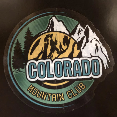 CMC Ice Climber on Mountain Sticker