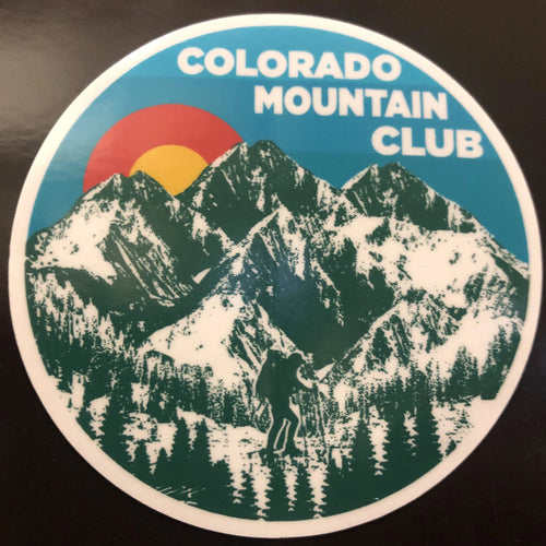CMC Color Mountain Sticker - Vintage