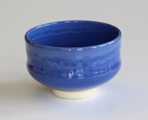 Handcrafted Matcha Bowl [Blue]