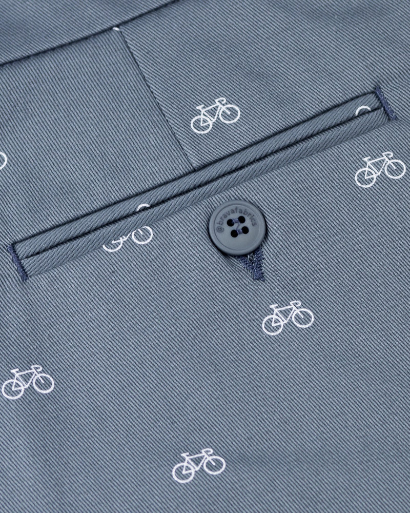 Gemusterte Shorts Fixed Gear Rider