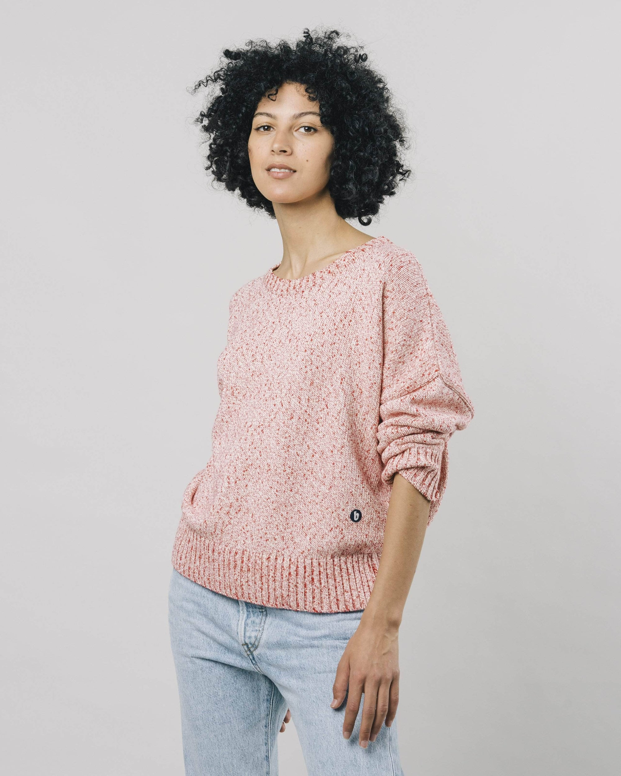 Mouline Coral Pullover