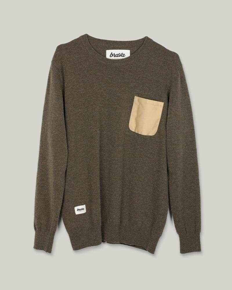 Pullover Essential Olive