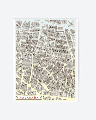 Walk With Me - Map - Malasaña