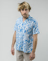Brava Fabrics - Aloha Hemd - Hawaiihemd Herren - 100% Bio-Baumwolle - Model Urban District
