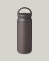 Kinto. Day off Tumbler 500ml Grau. Trinkflasche 500 ml. Thermoflasche.
