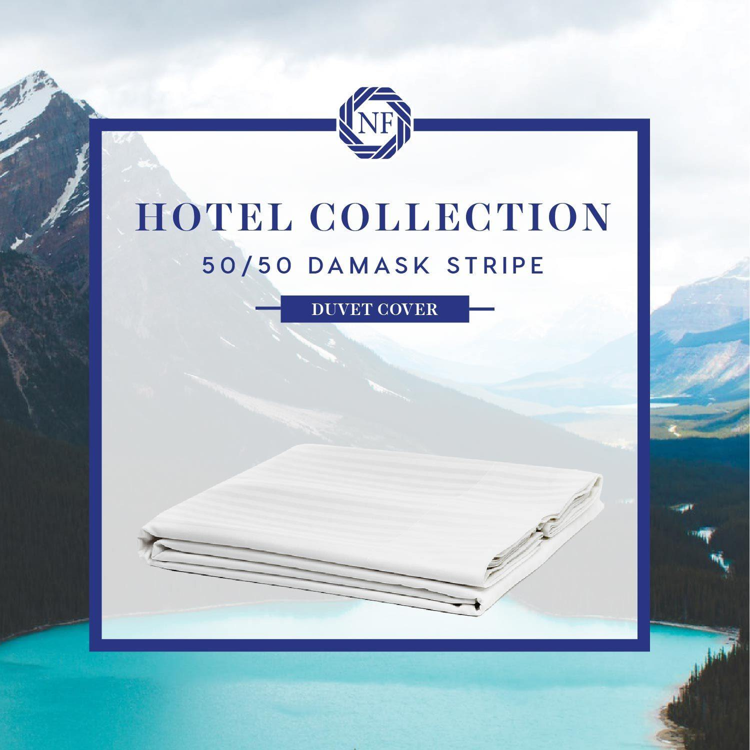 Hotel Collection 50/50 Damask Stripe Linen