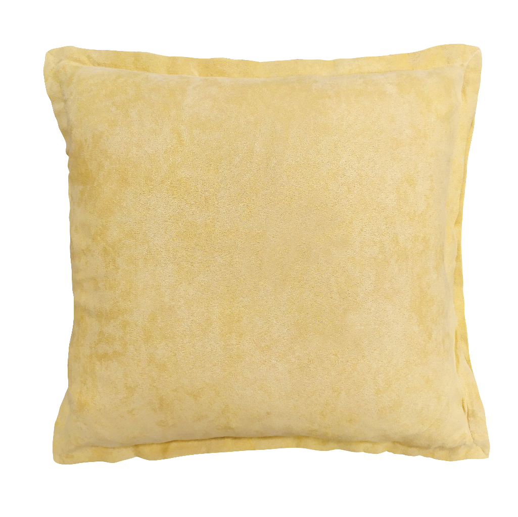 Microsuede Throw Pillow