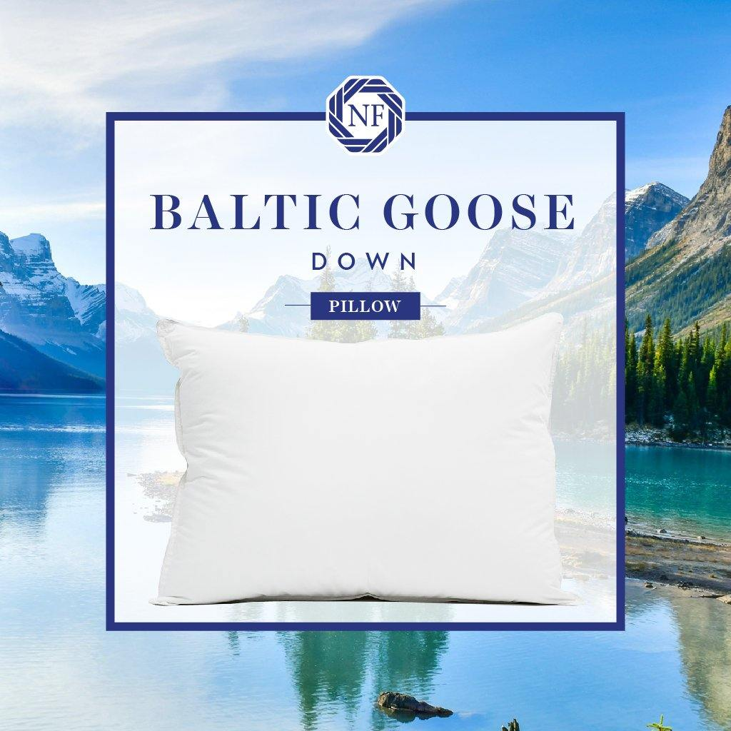 Baltic Goose Down Pillow