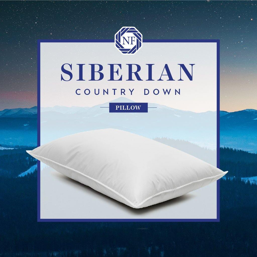 Siberian Country Down Pillow