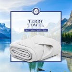 Load image into Gallery viewer, Terry Towel Mattress Protector - Northern Feather Canada eStore