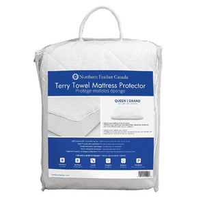 Terry Towel Mattress Protector - Northern Feather Canada eStore