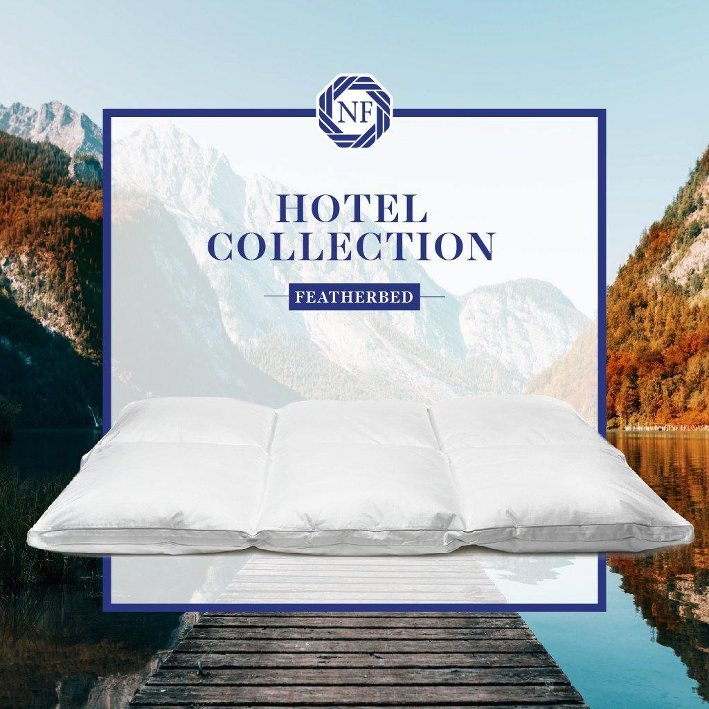 Hotel Collection Featherbed - Northern Feather Canada eStore