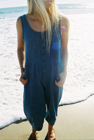 Long Jumpsuit - Indigo