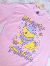 Load image into Gallery viewer, Howdy Partner! Yeehaw Ducky T-shirt | Pastel Yume Kawaii Fairy Kei T-shirt by Precious Bbyz/ bunnyprince