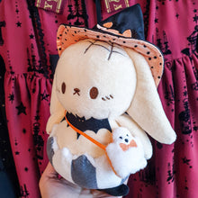 "Load image into Gallery viewer, Witchy Bunny 8"" Plush Keychain🔮 