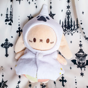 "Baby Ghost Bunny 8"" Plush Keychain👻 