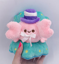Load image into Gallery viewer, Dapper Kreb Plush | Fancy and Fuzzy Pastel Crab Precious Bbyz Mascot Plush