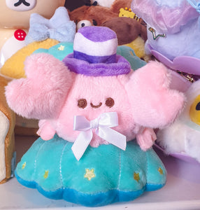 Dapper Kreb Plush | Fancy and Fuzzy Pastel Crab Precious Bbyz Mascot Plush