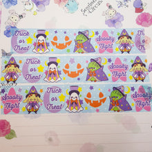 Load image into Gallery viewer, Spooky Party Thick Washi Tape | Kawaii Halloween Inspired Washi Tape for Journals, Scrapbooking, and Crafting by Precious Bbyz