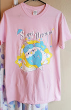 Load image into Gallery viewer, Sweet Dreams, Birb | Pastel Yume Kawaii Fairy Kei Tshirt by Precious Bbyz/ bunnyprince