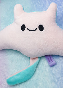 Precious Stingy Manta Ray Plush | Official Precious Bbyz Manta Ray Mascot Plush