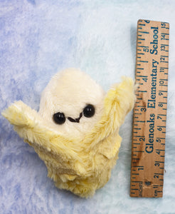 Teeny Banana •Made To Order• Plush | Handmade Tiny Peelable Banana Plush by Precious Bbyz