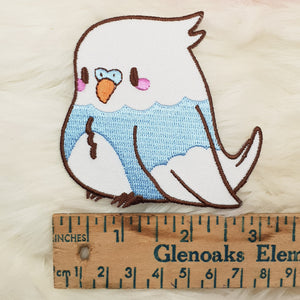 Lil Birb DIY Iron On Patch | Fairy Kei Yume Kawaii Pastel Space Patch by Precious Bbyz