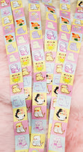 Load image into Gallery viewer, Birb Party Thick Lanyard| Kawaii Fairy Kei Parakeet Lanyard for Work School and Conventions by Precious Bbyz