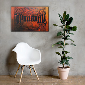 ORFIN Illuminati Reversible Canvas Print