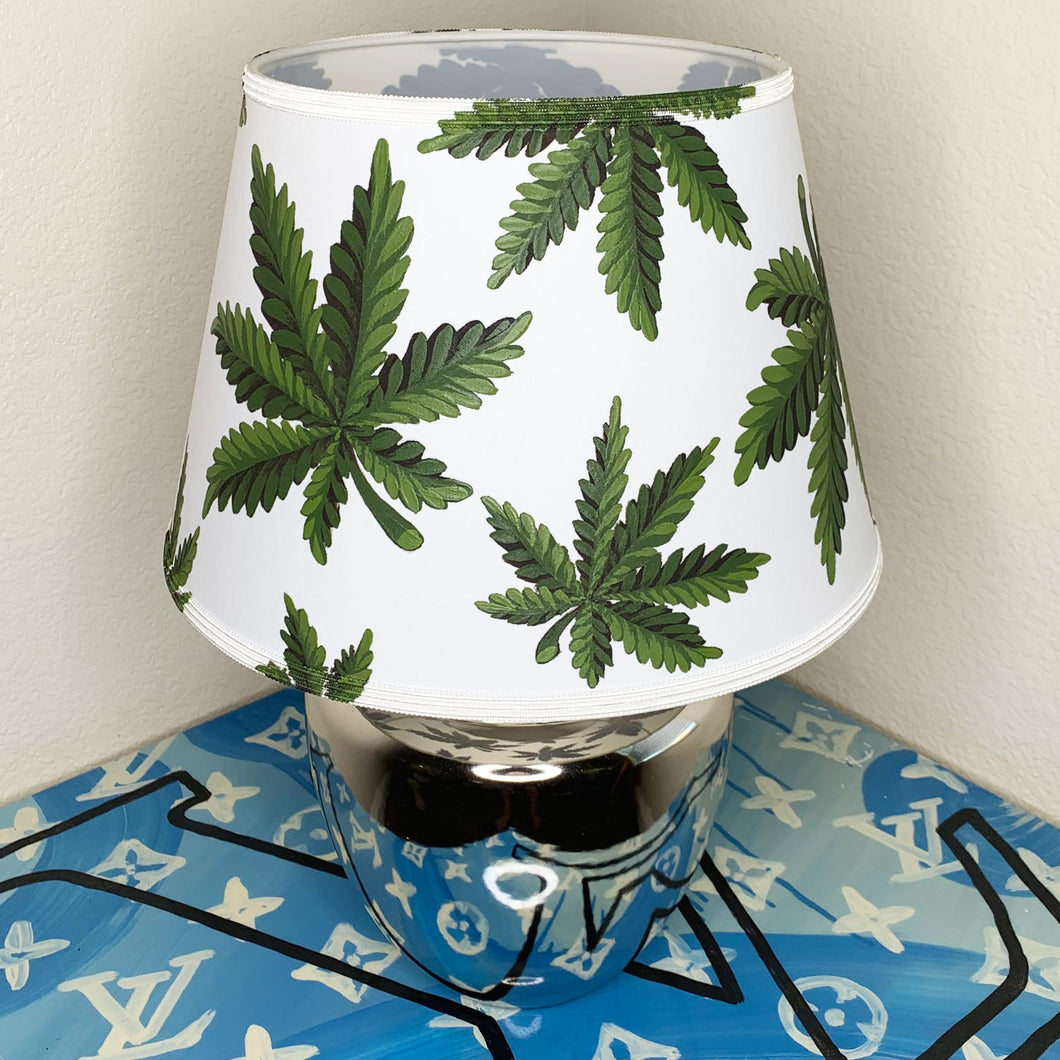 Custom Painted 420 Table Lamp