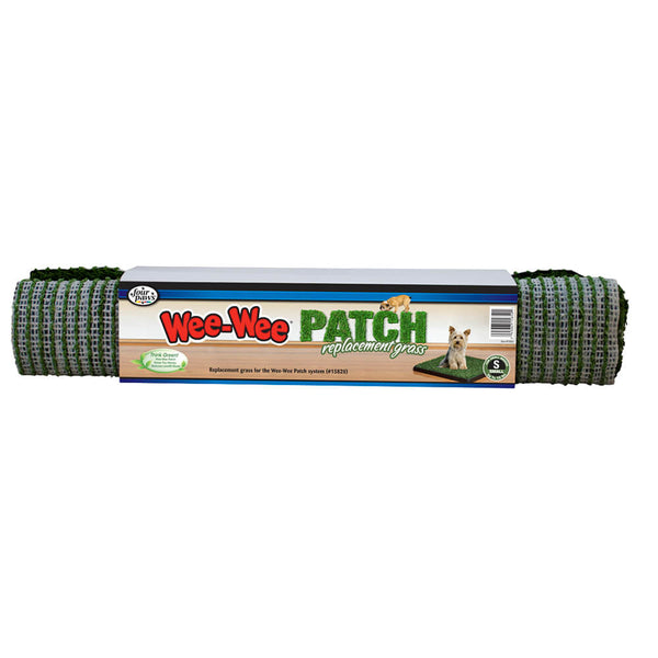 "Four Paws Wee-Wee Patch Indoor Potty Replacement Grass  Medium 19"" x 19"" x 0.5""."