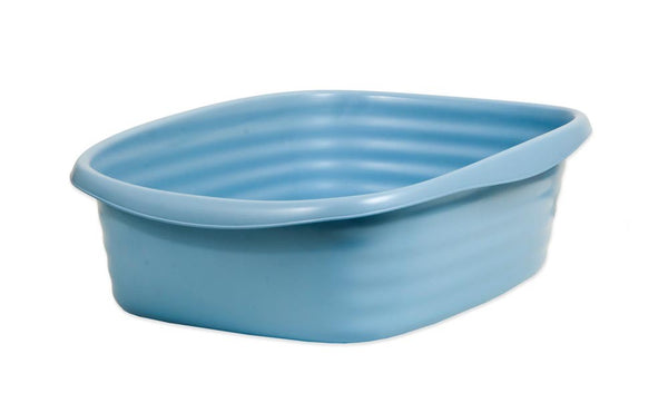 Arm & Hammer Litter Pan Wave Pearl Ash Blue Small.