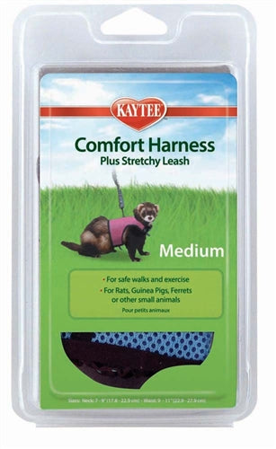 Kaytee Comfort Harness W-Stretchy Stroller Medium
