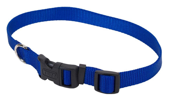 "Coastal Pet Tuff Buckle Adjustable Nylon Collar, 3-4""   x 14"" - 20""."