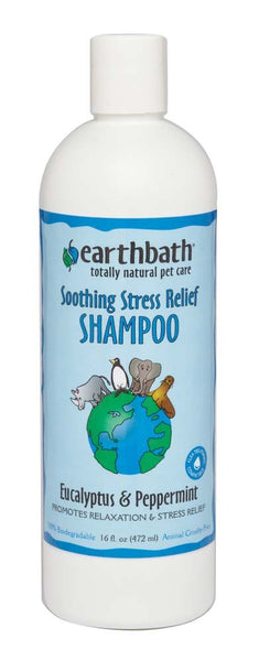 earthbath Eucalyptus & Peppermint Shampoo 16oz.