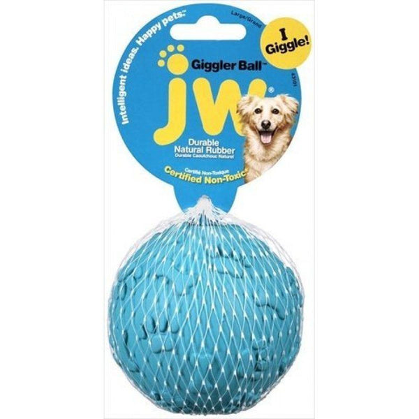 JW Pet Giggler Laughing Ball Dog Toy.